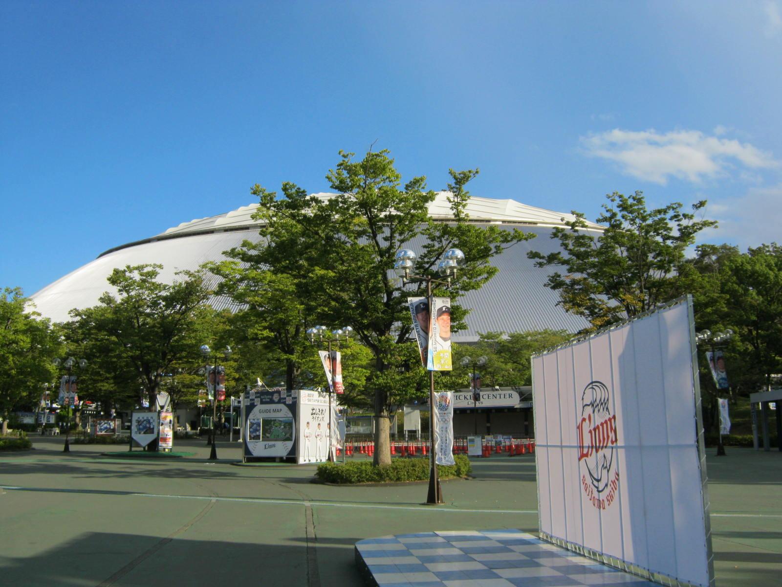 Seibu Dome_170116